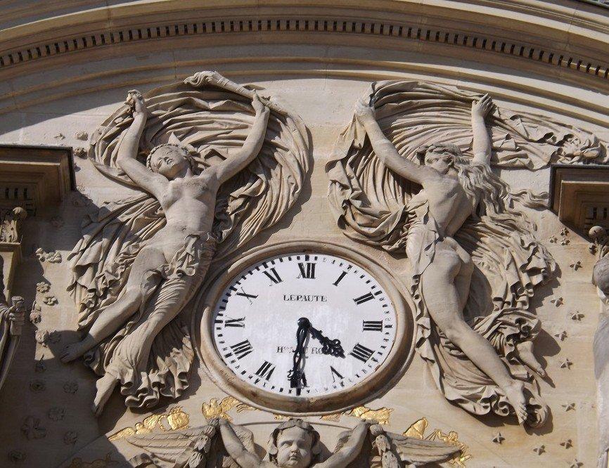 palais luxembourg horloge