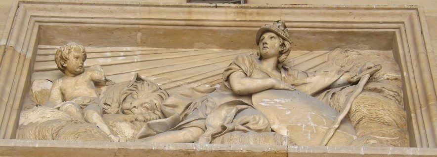 st sulpice bas-relief