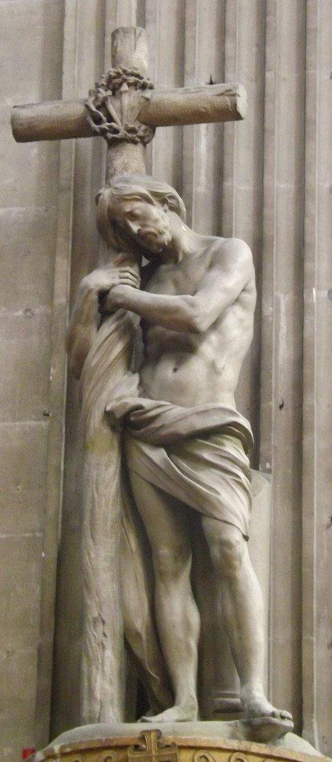 st sulpice christ bouchardon