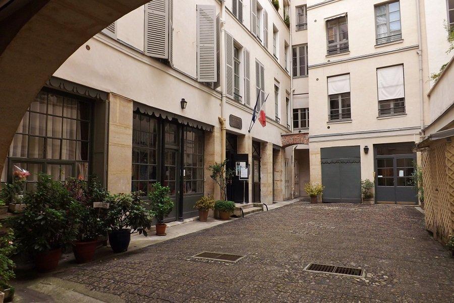 cour entrée musée delacroix 2