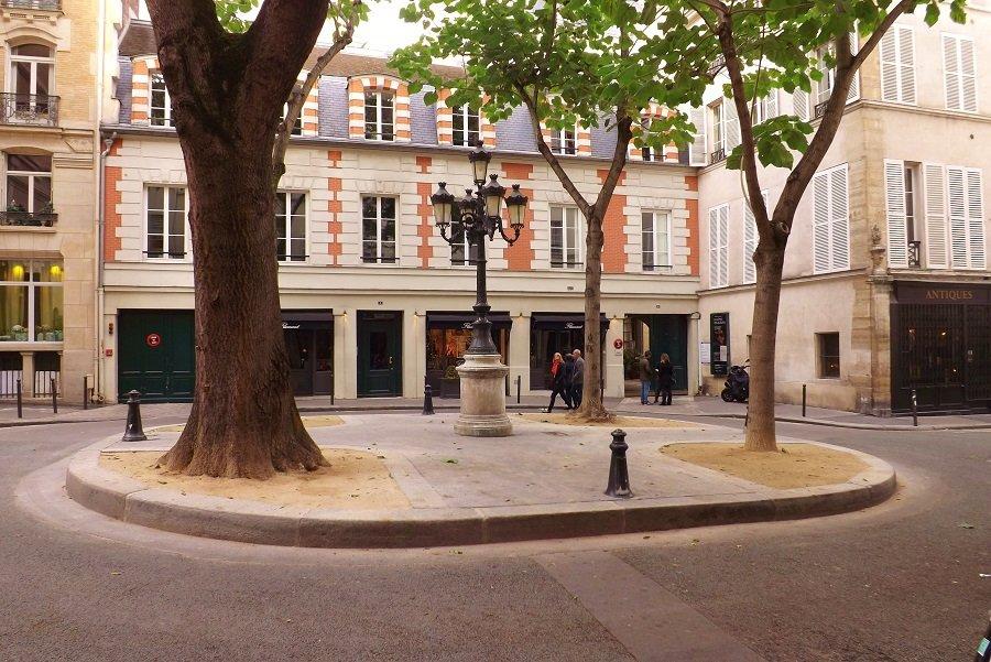 place devant musée et atelier delacroix