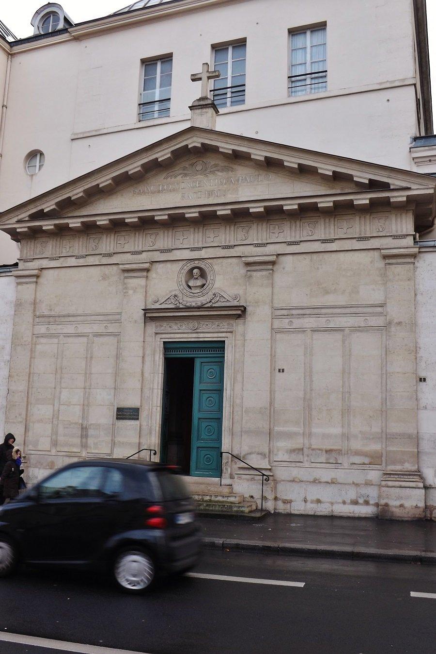 chapelle St Vincent façade