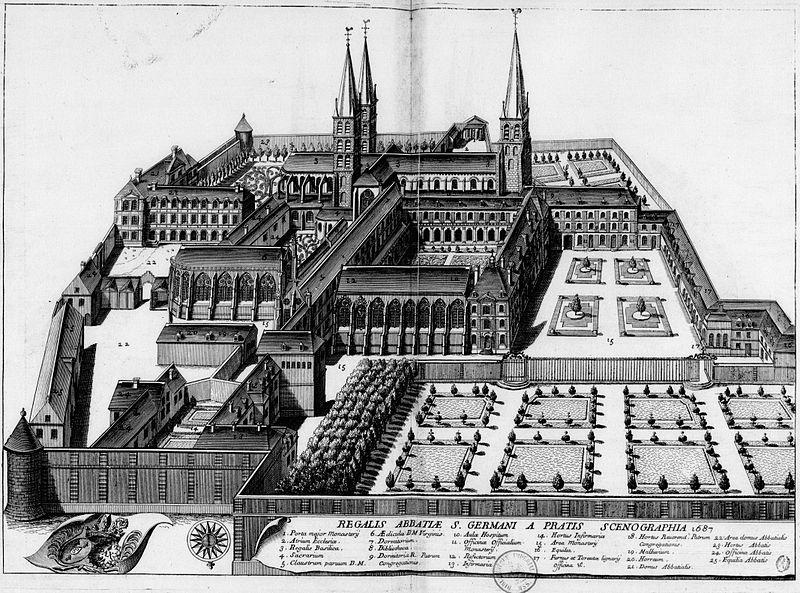abbaye st germain bnf