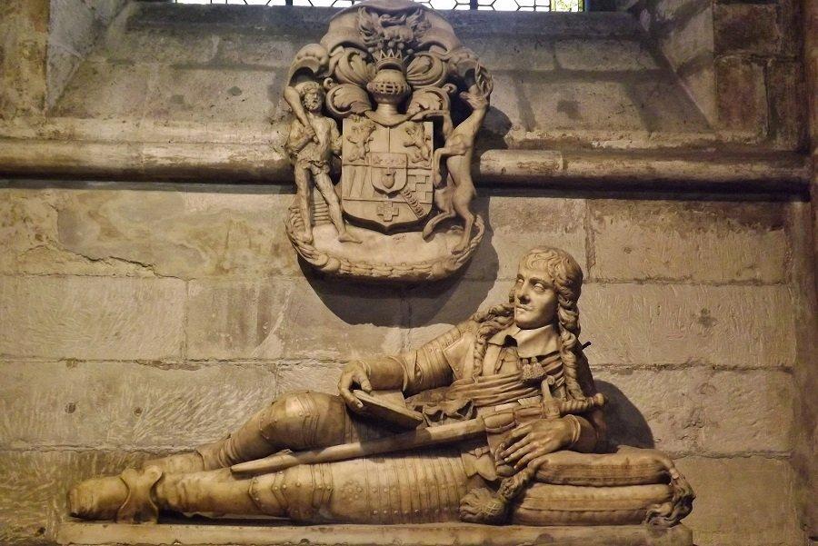 st germain des prés chapelle gisant