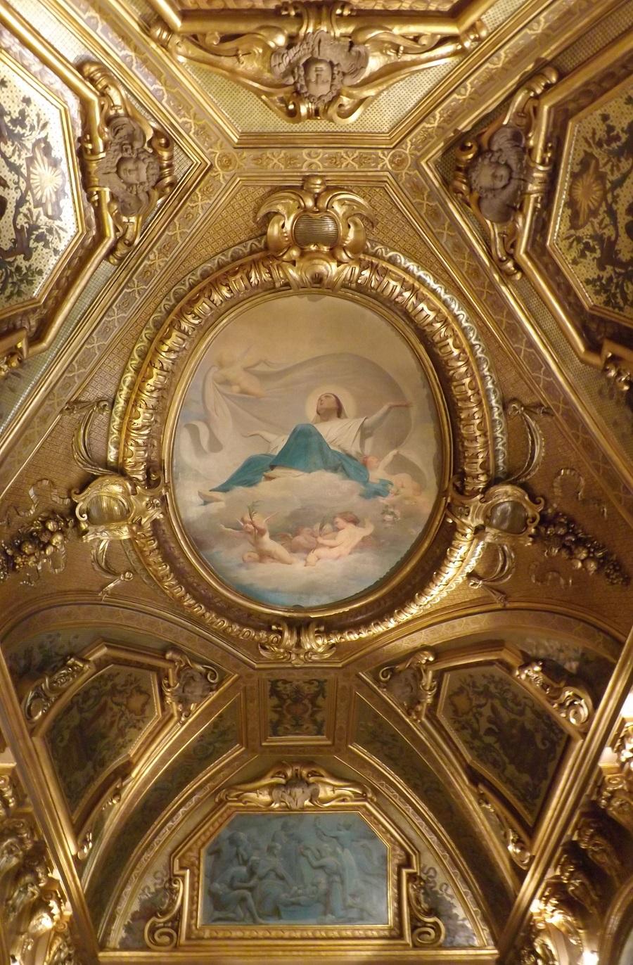 petit luxembourg chapelle plafond